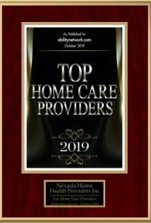 Top Home Care Providers Award 2019